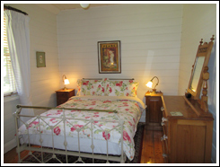Image of one of the bedrooms in Nivani